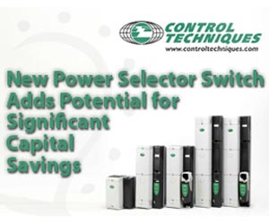 New Power Selector Switch Adds Potential for Significant Capital Savings